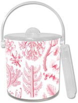 The Well Appointed House Pink Coral Lucite Ice Bucket-Can be Personalized