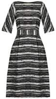 Goat Dromio boat-neck striped dress