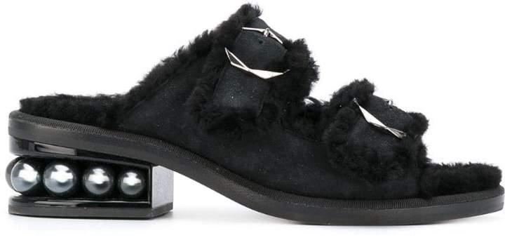 Nicholas Kirkwood 35mm Casati Pearl Two-Strap sandals