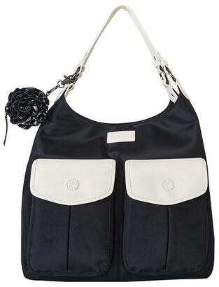 Gr8x Alice Shoulder Baby Bag Black and Cream Black