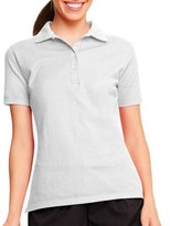 Hanes Womens X-temp Polo Sportshirt With Wicking Properties