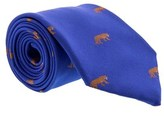 Gianfranco Ferre J039 U58 Blue Silk Mens Tie.