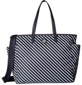 Tory Burch Scout Stripe Nylon Baby Bag Tote Tote Handbags
