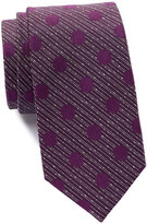 Ben Sherman Silk Stripe & Dot Tie