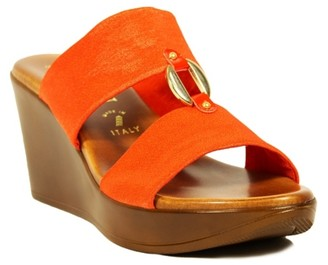 Italian Shoemakers Elly Wedge Sandal