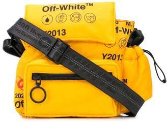 Off-White logo messenger bag
