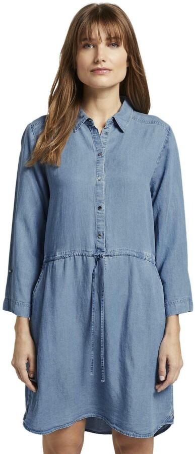 Thumbnail for your product : Tom Tailor Women's Blue Denim Dress