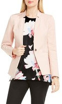 Vince Camuto Women's One-Button Notch Collar Blazer