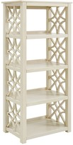 Linon Whitley Shabby Chic 4-Shelf Bookcase