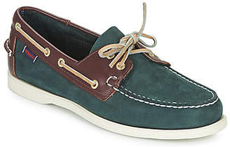 Sebago PORTLAND SPINNAKER NBK FGL men's Boat Shoes in Blue