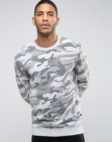 ONLY & SONS Sweatshirt In Camo