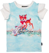 Rock Your Kid Doe A Deer SS Tee (Girls 3-8 Yrs)