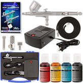Master Airbrush Cake Decorating System. With Airbrush, Compressor, FREE Storage Case & 4-Color Chefmaster Color Kit