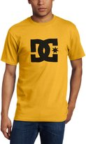 DC Men's Star Screen T-Shirt, Charcoal/White