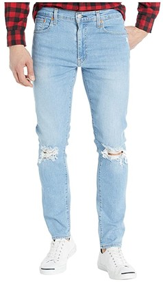Levi's(r) Premium Premium 512 Slim Taper Selvedge Jeans (Pelican Mid Dx) Men's Jeans