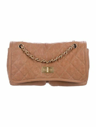 Chanel Quilted Flap Bag gold