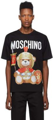 Moschino Black Gladiator Teddy T-Shirt