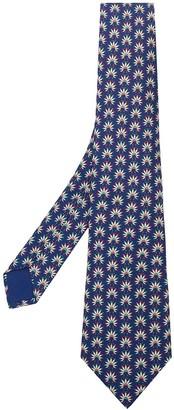Hermes pre-owned Geige flowers print tie
