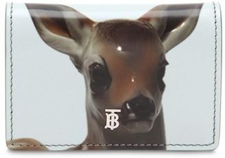 Burberry Jessy Bambi Print Chain Wallet