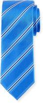 Bugatchi Stripe-Weave Silk Tie