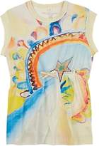 Stella McCartney Kids' Carrie Watercolor-Print Cotton Dress