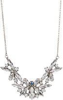 Sorrelli Delicate Floral Navette Crystal Necklace