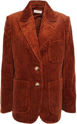 Tory Burch Wide Wale Cotton-corduroy Blazer