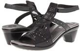 Naot Footwear Vogue (Brushed Black Metallic) Women's Sandals
