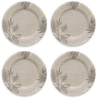 Tarhong Rustic Pine Dinner Plate, Set of 4