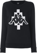 Marcelo Burlon County of Milan x Kappa sweatshirt - women - Cotton/Polyester - XS