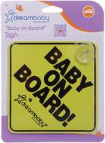 Dream Baby Dreambaby Baby On Board Sign (Yellow)