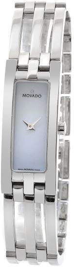 Movado Esperenza 84 H5 1400 Mother of Pearl Dial Stainless Steel 15mm Womens Watch