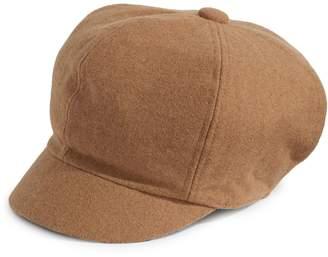 Nine West Wool-Blend Newsboy Cap