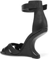 Rick Owens Cyclops cutout leather sandals