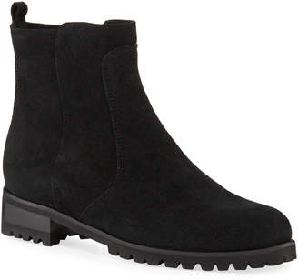 La Canadienne Singer Waterproof Suede Easy Booties