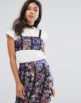 PrettyLittleThing Ring Detail Crop Top