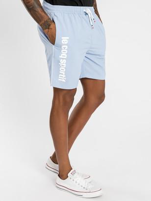 Le Coq Sportif Concurrent Shorts in Light Blue