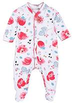 Catimini Baby Girls' Pyjama Floral Sleepsuit,(Manufacturer Sizes:18 Months)