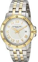 Raymond Weil Men's 5599-STP-00308 Analog Display Swiss Quartz Two Tone Watch