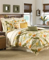 """Tommy Bahama Home Birds of Paradise 16"""" Square Decorative Pillow"""