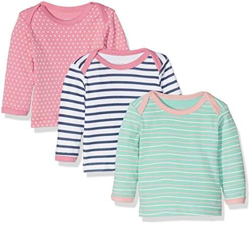 Care Baby Girls' Birte Long Sleeve Top, Pack of 3,104