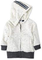 Splendid Newborn/Infant Boys) Speckled Zip Hoodie