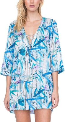 Gottex Exotic Paradise Silk-Blend Cover-Up