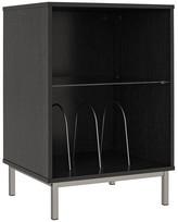 Design Studio A Cyno Turntable Stand, Black Oak