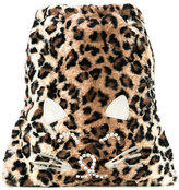 Simonetta cat motif backpack