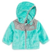 The North Face Infant Girl's 'Oso' Fleece Hooded Jacket