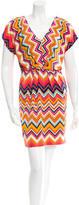 Trina Turk Short Sleeve Sheath Dress