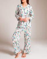 Zimmerli Of Switzerland Rainbow Sapphire Print Pajama