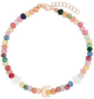 Roxanne First 14kt Rose Gold Mother-Of-Pearl Bracelet