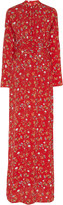 By Ti Mo Bytimo byTiMo Floral-Print Crepe De Chine Maxi Dress